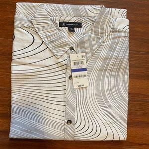 Men's I.N.C. Denim Dressing button down shirt